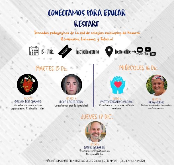JORNADAS PEDAGÓGICAS ON LINE ESCOLAPIOS NAVARRA